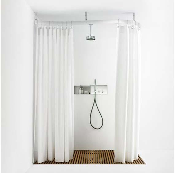 Antibakteriyel Duş perdesi
